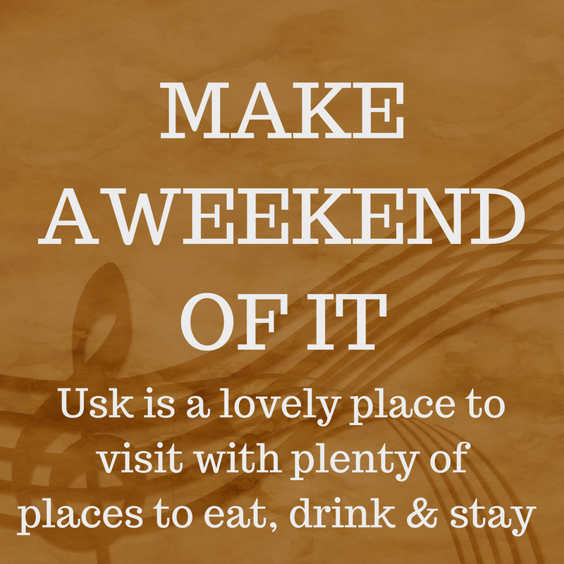 Usk Choral Festival Stay