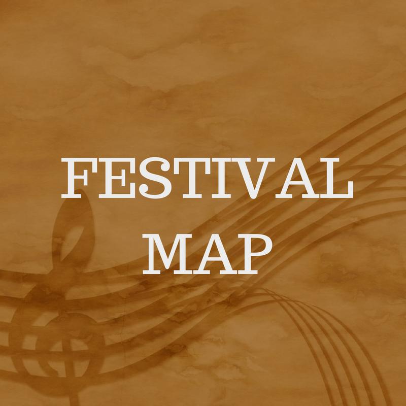 Usk Choral Festival Map